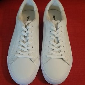 Madewell White Leather sneaker sz 10